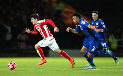 Stoke City's Bojan Krkic in action - Photo mandatory by-line: Matt McNulty/JMP - Mobile: 07966 386802 - 26/01/2015 - SPORT - Football - Rochdale - Spotland Stadium - Rochdale v Stoke City - FA Cup Fourth Round