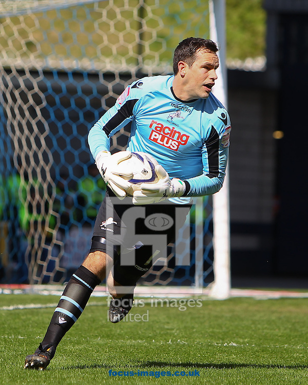Picture by John Rainford/Focus Images Ltd +44 7506 538356.27/04/2013.David Forde of Millwall during the npower Championship match at The Den, London.