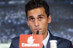 July 23, 2018 - Madrid, Spain - Arbeloa during press conference of presentation of Andriy Lunin as new Real Madrid goalkeeper at Santiago Bernabéu Stadium in Madrid, Spain. July 23, 2018. (COOLMEDIA/BorjaB.Hojas) (Credit Image: © Coolmedia/NurPhoto via ZUMA Press)
