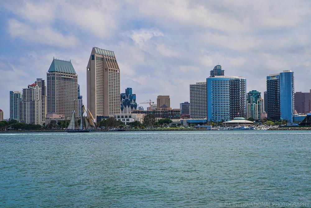 San Diego Skyline & Bay
