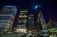 Skyscrapers of La Défense @ Night