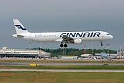 Finnair, Airbus A321-200 At Malpensa (MXP / LIMC), Milan, Italy