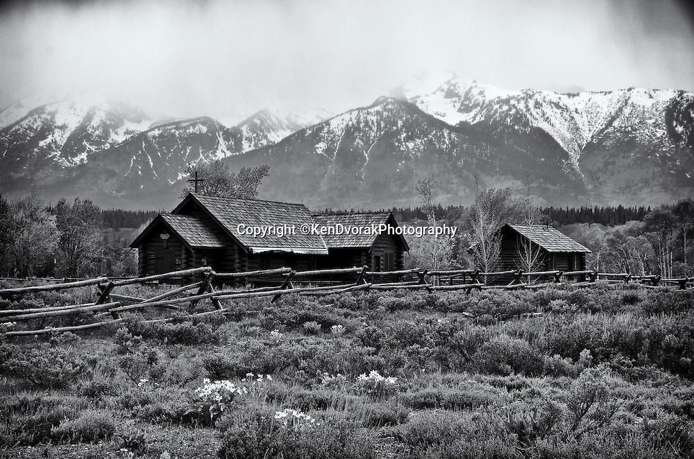 Teton/Yellowstone '13<br />edited 9/13/13<br /> converted to B%W 9/13/13