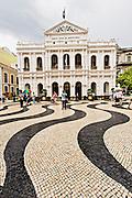 Santa Cada da Misericordia in Senado Square Macau.