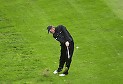 19/10/2003 - Photo  Peter Spurrier.2003 HSBC World Match Play Championship - Wentworth.Sunday - Final Day- Ernie Els v Thomas Bjorn:.Thomas Bjorn, play's his second shot oon the fourth......[Mandatory Credit Peter Spurrier/ Intersport Images]
