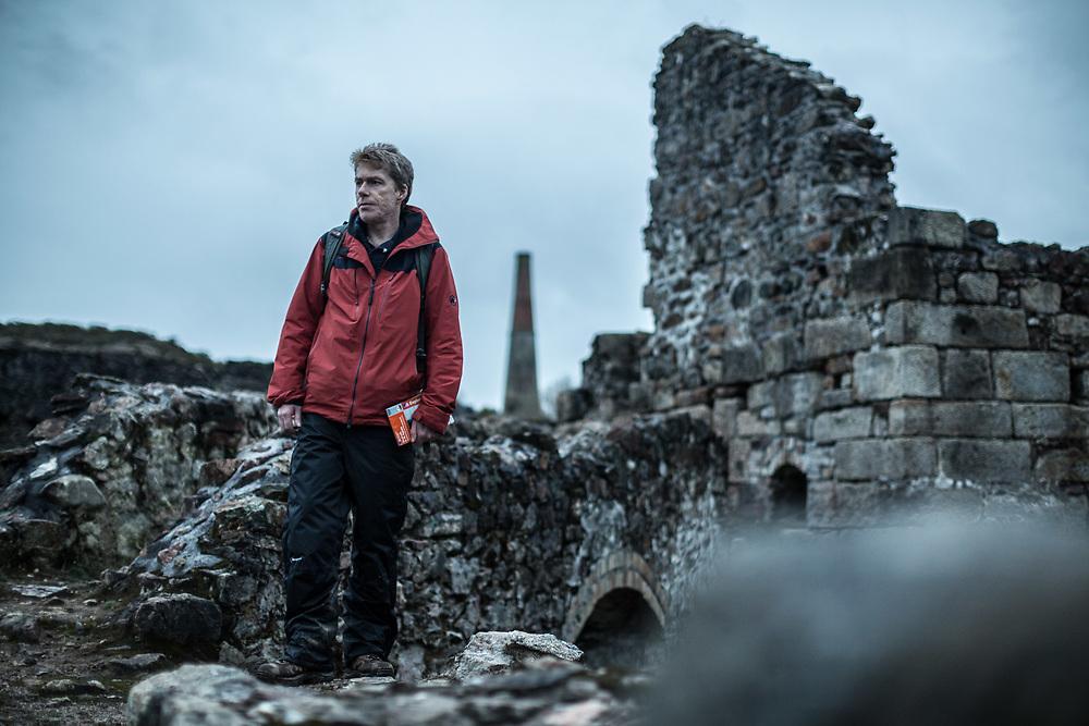 Jan 2018 - Corwall Mining Trail - Devoran to Portreath with Mark Rowe