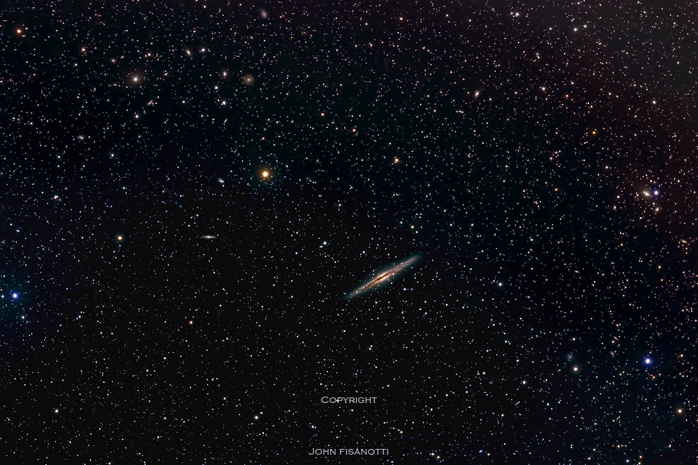 NGC 891 in Andromeda