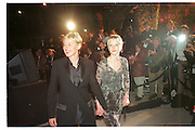 Ellen DeGeneres and Anne Heche at theVanity Fair Oscar  night party, Mortons, Los Angeles. 23 March 1988.<br /> Copyright Photograph by Dafydd Jones<br /> 66 Stockwell Park Rd. London SW9 0DA<br /> Tel. 0171 733 0108