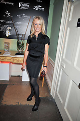 KAREN MILLEN at the launch of Quintessentially Soho at the House of St Barnabas, 1 Greek Street, London on 29th September 2009.<br /> <br /> <br /> <br /> <br /> BYLINE MUST READ: donfeatures.com<br /> <br /> *THIS IMAGE IS STRICTLY FOR PAPER, MAGAZINE AND TV USE ONLY - NO WEB ALLOWED USAGE UNLESS PREVIOUSLY AGREED. PLEASE TELEPHONE 07092 235465 FOR THE UK OFFICE.*