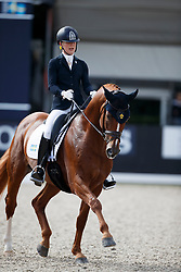 Lundholm Ida-Linn, SWE, Dragon Welt 1303<br /> Longines FEI/WBFSH World Breeding Dressage Championships for Young Horses - Ermelo 2017<br /> © Hippo Foto - Dirk Caremans<br /> 04/08/2017