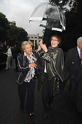 Left to right, DAME VIVIEN DUFFIELD and LADY VICTORIA GETTY at the annual Sir David & Lady Carina Frost Summer Party in Carlyle Square, London SW3 on 5th July 2007.<br /><br />NON EXCLUSIVE - WORLD RIGHTS