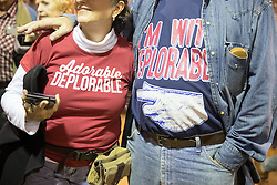 October 28, 2016 - Manchester, NH, USA - Supporters of Donald Trump, the republican candidate for president of the United States, during a campaign stop at the Armory Ballroom in the Radisson Hotel in Manchester, NH. (Credit Image: © Bryce Vickmark via ZUMA Wire)