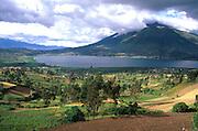ECUADOR, HIGHLANDS Imbabura Volcano  and amp; San Pablo Lake