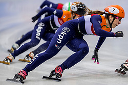 13-01-2018 DUI: ISU European Short Track Championships 2018 day 2, Dresden<br /> Suzanne Schulting NED #7