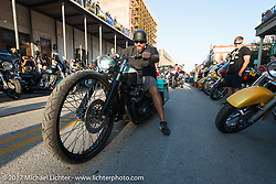 The Strand during the Lone Star Rally. Galveston, TX. USA. Saturday November 4, 2017. Photography ©2017 Michael Lichter.