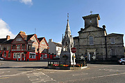 A street scene in Lismore, County Waterford.<br /> Picture by Don MacMonagle