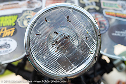Terry Richardson's love-bug covered 1946 Harley-Davidson FL Knucklehead during the Cross Country Chase motorcycle endurance run from Sault Sainte Marie, MI to Key West, FL. (for vintage bikes from 1930-1948). 287 mile ride of Stage-8 from Tallahassee to Lakeland, FL USA. Friday, September 13, 2019. Photography ©2019 Michael Lichter.