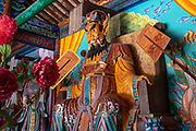 Interior of the Confucian Temple of Literature, Jianshui, Yunnan Province, China