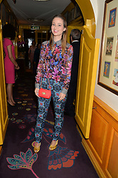 KELLY EASTWOOD at an exclusive dinner for Iris Apfel held at Annabel's, Berkeley Square, London on 29th July 2015.