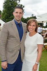 CLAIRE WILLIAMS deputy team principal of the Williams Formula One racing teamand MARC HARRIS at the Cartier hosted Style et Lux at The Goodwood Festival of Speed at Goodwood House, West Sussex on 26th June 2016.
