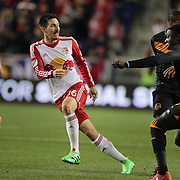 Sacha Kljestan, New York Red Bulls, in action during the New York Red Bulls Vs Houston Dynamo, Major League Soccer regular season match at Red Bull Arena, Harrison, New Jersey. USA. 19th March 2016. Photo Tim Clayton