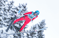 15.12.2017, Gross Titlis Schanze, Engelberg, SUI, FIS Weltcup Ski Sprung, Engelberg, im Bild Mikhail Nazarov (RUS) // Mikhail Nazarov of Russian Federation during Mens FIS Skijumping World Cup at the Gross Titlis Schanze in Engelberg, Switzerland on 2017/12/15. EXPA Pictures © 2017, PhotoCredit: EXPA/JFK