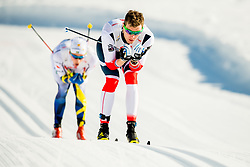 January 31, 2018 - Goms, SWITZERLAND - 180131 Ole JÂ¿rgen Bruvoll of Norway competes in the men's 15km classic technique interval start during the FIS U23 Cross-Country World Ski Championships on January 31, 2018 in Obergoms..Photo: Vegard Wivestad GrÂ¿tt / BILDBYRN / kod VG / 170091 (Credit Image: © Vegard Wivestad Gr¯Tt/Bildbyran via ZUMA Press)
