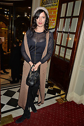 RONNI ANCONA at Beautiful - The Carole King Musical 1st Birthday celebration evening at The Aldwych Theatre, London on 23rd February 2016.