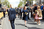 Koningsdag 2017 in Tilburg / Kingsday 2017 in Tilburg<br /> <br /> Op de foto / On the photo:  Koningin Maxima Prinses Ariane en Prinses Alexia  / Queen Princess Ariane and Princess Alexia