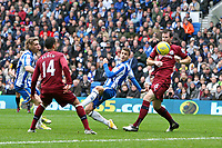 Football - FA Cup 3rd Round  - Brighton and Hove Albion vs Newcastle United<br /> Brighton's Andrea Orlandi flicks the ball in to open the scoring at The American Express Community Stadium