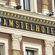 NLD/Amsterdam/20060620 - Logo Amstel Hotel Amsterdam