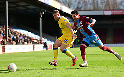 James Clarke of Bristol Rovers lattes for the ball with Adam Hammill of Scunthorpe United - Mandatory by-line: Alex James/JMP - 09/03/2019 - FOOTBALL - Glanford Park - Scunthorpe, England - Scunthorpe United v Bristol Rovers - Sky Bet League One