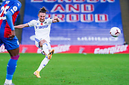 Leeds United defender Luke Ayling (2) passes the ball during the Premier League match between Crystal Palace and Leeds United at Selhurst Park, London, England on 7 November 2020.