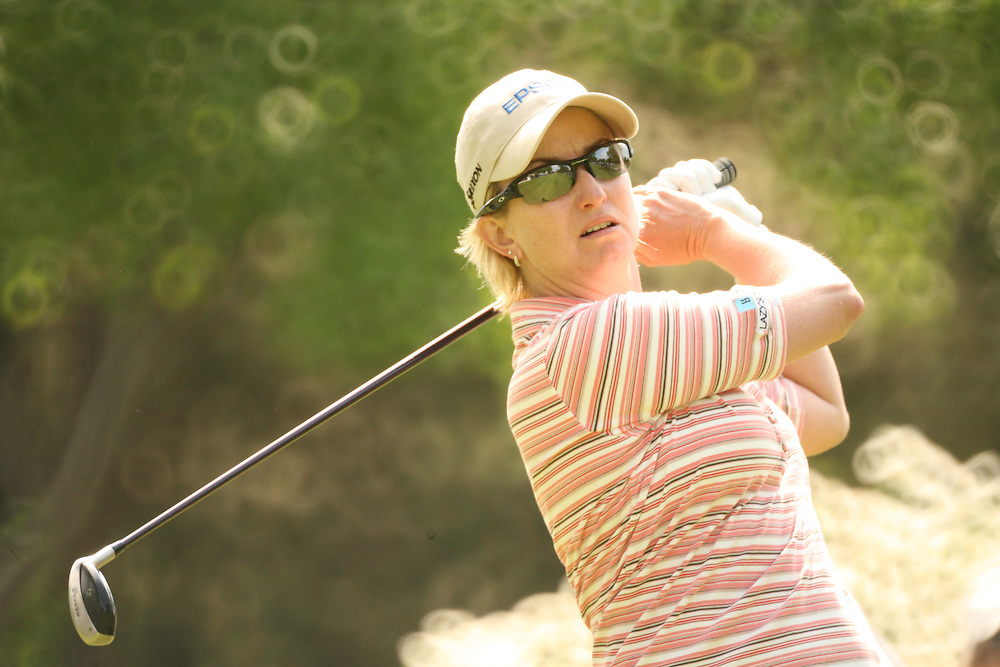 Karrie Webb during the second round of the 2008 Sybase Classic at Upper Montclair Country Club in Clifton, New Jersey on Saturday, May 17, 2008. .
