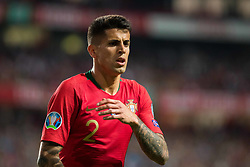 March 22, 2019 - Lisbon, Portugal - Joao Cancelo of Portugal in action during the Qualifiers - Group B to Euro 2020 football match between Portugal vs Ukraine. (Credit Image: © Henrique Casinhas/SOPA Images via ZUMA Wire)