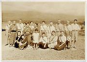 vacationing group portrait vintage Japan