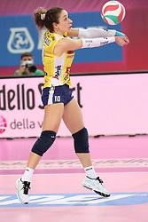 DE GENNARO MONICA (CONEGLIANO)<br /> FINAL FOUR COPPA ITALIA PALLAVOLO FEMMINILE<br /> RIMINI 14-03-2021<br /> FOTO FILIPPO RUBIN / LVF