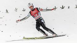 06.01.2016, Paul Ausserleitner Schanze, Bischofshofen, AUT, FIS Weltcup Ski Sprung, Vierschanzentournee, Bischofshofen, Finale, im Bild Daniel Andre Tande (NOR) // Daniel Andre Tande of Norway reacts after his 1st round jump of the Four Hills Tournament of FIS Ski Jumping World Cup at the Paul Ausserleitner Schanze in Bischofshofen, Austria on 2016/01/06. EXPA Pictures © 2016, PhotoCredit: EXPA/ JFK