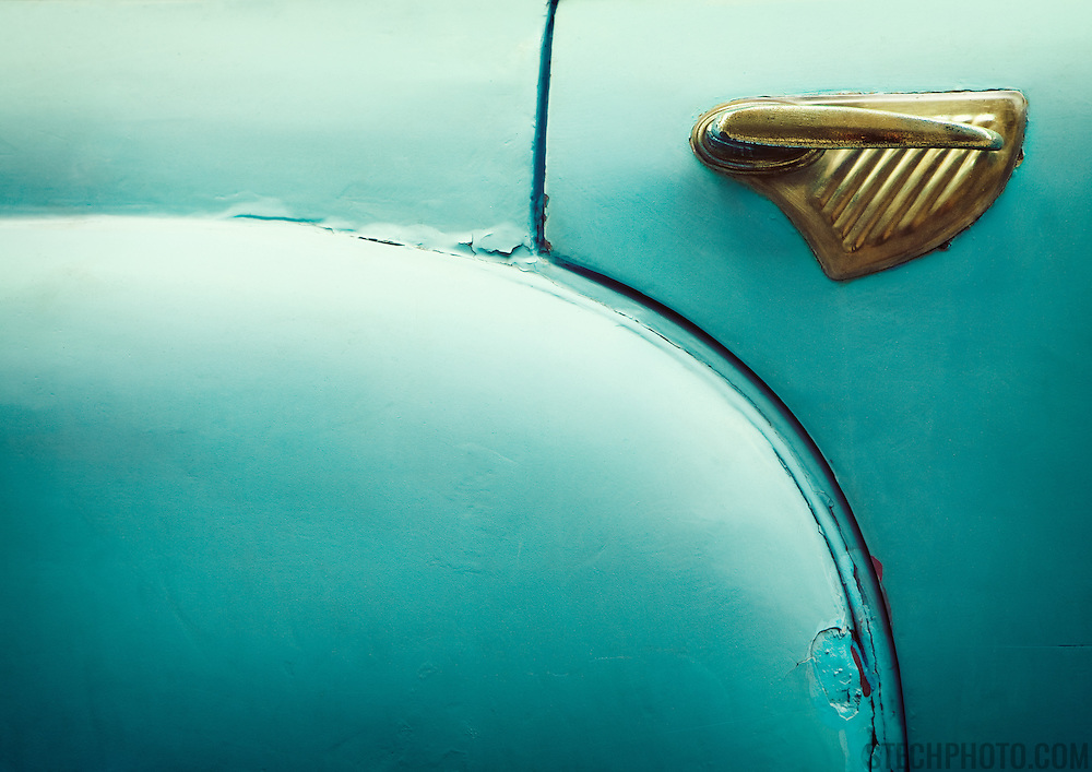 An abstract detail of a vintage Cuban car.<br /> <br /> + ART PRINTS +<br /> To order prints or cards of this image, visit:<br /> http://greg-stechishin.artistwebsites.com/featured/vintage-detail-greg-stechishin.html