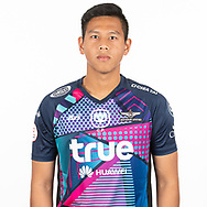 THAILAND - MARCH 06: Anusit Termmee #25 of True Bangkok United on March 06, 2019.<br /> .<br /> .<br /> .<br /> (Photo by: Naratip Golf Srisupab/SEALs Sports Images/MB Media Solutions)