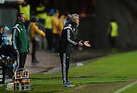 Fotball UEFA Europa League Rosenborg - FC Dnipro<br /> 1 oktober 2015<br /> Lerkendal Stadion, Trondheim<br /> <br /> <br />  Rosenborgs trener Kåre Ingebrigtsen noe oppgitt<br /> <br /> <br /> Foto : Arve Johnsen, Digitalsport