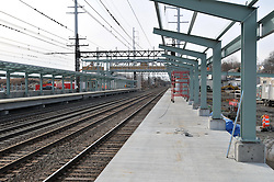 Construction Progress Railroad Station Fairfield Metro Center - One of 41 images taken on 19th site visit of once per month chronological documentation.