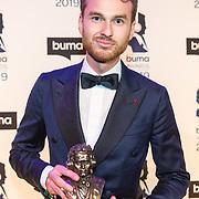 NLD/Hilversum/20190311  - Uitreiking Buma Awards 2019, Vincent van den Ende wint de Buma award Internationaal