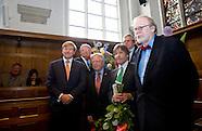 Koning Willem-Alexander tijdens de viering van het 250-jarig bestaan van de Maatschappij de