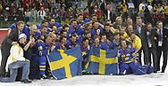 Gruppenfoto nach dem Olympia-Sieg © Thomas Oswald