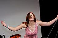 Brett Anderson - The Donnas, V2002, Hylands Park, Chelmsford, Essex, Britain - 18 August 2002