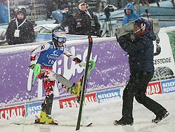 15.01.2016, Hermann Maier Weltcupstrecke, Flachau, AUT, FIS Weltcup Ski Alpin, Flachau, Damen, Slalom, 2. Lauf, im Bild Eva-Maria Brem (AUT) // Eva-Maria Brem of Austria reacts after her 2nd run of Ladie's Slalom for the FIS Ski Alpine World Cup at the Hermann Maier Weltcupstrecke in Flachau, Austria on 2016/01/15. EXPA Pictures © 2016, PhotoCredit: EXPA/ JOHANN GRODER