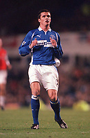 Kevin McLeod - Everton. Everton v Arsenal. F.A.Carling Premiership, 18/11/2000. Credit: Colorsport / Andrew Cowie.
