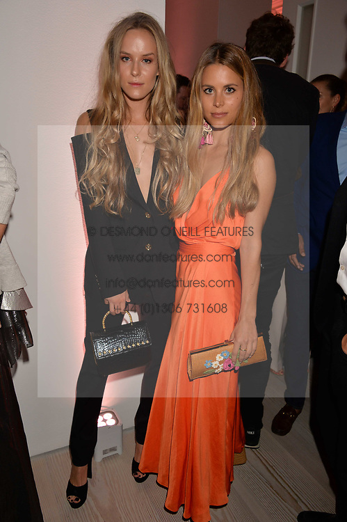 Hum Fleming and Irene Forte at the Tatler's English Roses 2017 party in association with Michael Kors held at the Saatchi Gallery, London England. 29 June 2017.<br /> Photo by Dominic O'Neill/SilverHub 0203 174 1069 sales@silverhubmedia.com