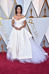 Camila Alves walking the red carpet as arriving for the 90th annual Academy Awards (Oscars) held at the Dolby Theatre in Los Angeles, CA, USA, on March 4, 2018. Photo by Lionel Hahn/ABACAPRESS.COM